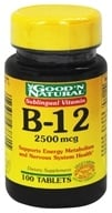 Good 'N Natural - Sublingual Vitamin B-12 2500 mcg. - 100 Tablets (074312438615)