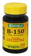 Good 'N Natural - B-150 Mega B-Complex - 30 Tablets (074312438004)