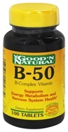 Good 'N Natural - B-50 B-Complex Vitamin - 100 Tablets
