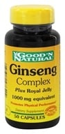 Image of Good 'N Natural - Ginseng Complex Plus Royal Jelly 1000 mg. - 50 Capsules