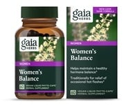 Gaia Herbs - Women's Balance Liquid Phyto Capsules - 60 Vegetarian Capsules Formerly Phyto Estrogen, from category: Herbs
