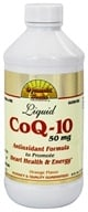Dynamic Health - Liquid CoQ-10 Orange 50 mg. - 8 oz.