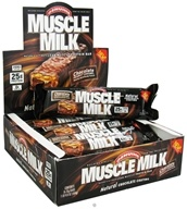 Cytosport - Muscle Milk Bars Chocolate Peanut Caramel - 2.57 oz., from category: Sports Nutrition