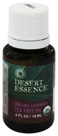 Desert Essence - Organic Lavender Tea Tree Oil - 0.6 oz. LUCKY PRICE
