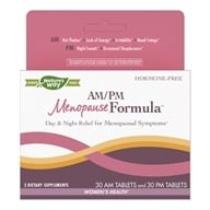 Enzymatic Therapy - AM/PM Menopause Formula - 60 Tablets by Enzymatic Therapy
