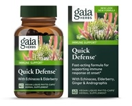 Image of Gaia Herbs - Quick Defense - 40 Capsules