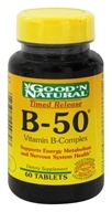 Good 'N Natural - B-50 Time Release Complex - 60 Tablets
