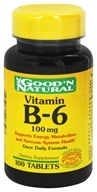 Good 'N Natural - Vitamin B-6 100 mg. - 100 Tablets (074312406508)