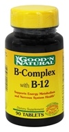 Good 'N Natural - B-Complex and B-12 - 90 Tablets (074312401909)