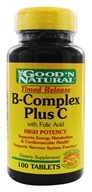 Good 'N Natural - B-Complex Plus C Time Release With Folic Acid - 100 Tablets, from category: Vitamins & Minerals