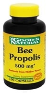 Image of Good 'N Natural - Bee Propolis 500 mg. - 100 Capsules