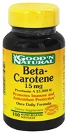 Good 'N Natural - Beta-Carotene 15 Mg Provitamin A 25 000 I.U. - 100 Softgels by Good 'N Natural