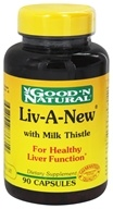 Good 'N Natural - Liv-A-New With Milk Thistle - 90 Capsules - $7.32