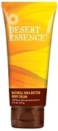 Image of Desert Essence - Natural Shea Butter Body Cream - 6 oz. LUCKY DEAL