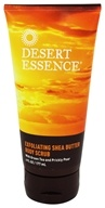 Desert Essence - Exfoliating Shea Butter Body Scrub - 6 oz.