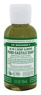 Dr. Bronners - Magic Pure-Castile Soap Organic Almond - 2 oz. CLEARANCE PRICED