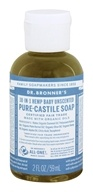 Image of Dr. Bronners - Magic Pure-Castile Soap Organic Baby-Mild - 2 oz.