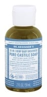 Dr. Bronners - Magic Pure-Castile Soap Organic Baby-Mild Unscented - 2 oz.