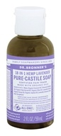 Dr. Bronners - Magic Pure-Castile Soap Organic Lavender - 2 oz. by Dr. Bronners