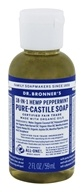 18-in-1 Hemp Pure Castile Liquid Soap Peppermint - 2 fl. oz.