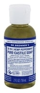 Dr. Bronners - Magic Pure-Castile Soap Organic Peppermint - 2 oz. CLEARANCE PRICED