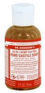 Dr. Bronners - Magic Pure-Castile Soap Organic Tea Tree - 2 oz. CLEARANCE PRICED