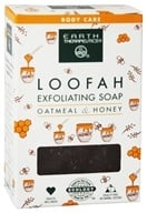 Image of Earth Therapeutics - Loofah Exfoliating Soap Oatmeal & Honey - 4 oz.