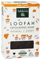 Earth Therapeutics - Loofah Exfoliating Soap Oatmeal & Honey - 4 oz. by Earth Therapeutics