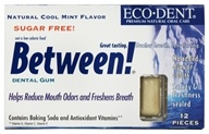 Image of Eco-Dent - Between Dental Gum Cool Mint - 12 Piece(s)