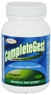 Enzymatic Therapy - CompleteGest Mealtime Enzyme Formula - 90 Ultracap(s) by Enzymatic Therapy