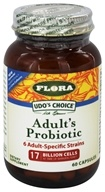 Flora - Udo's Choice Adult's Blend Probiotic - 60 Vegetarian Capsules by Flora