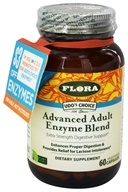 Flora - Udo's Choice Advanced Adult Enzyme Blend - 60 Vegetarian Capsules (061998613795)