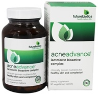 Futurebiotics - AcneAdvance Praventin Bioactive Complex - 90 Vegetarian Tablets, from category: Nutritional Supplements