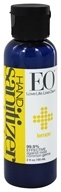Image of EO Products - Hand Sanitizing Gel Travel Size Lemon - 2 oz.