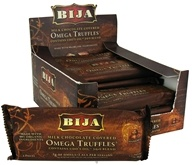 Flora - Bija Omega Truffles Milk Chocolate with Hazelnut Filling - 2.3 oz. by Flora