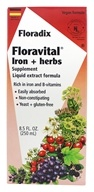 Flora - Floravital Iron & Herbs Yeast Free - 8.5 oz.