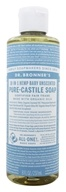 Dr. Bronners - Magic Pure-Castile Soap Organic Baby Mild Unscented - 8 oz.