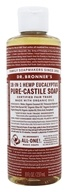 Dr. Bronners - Magic Pure-Castile Soap Organic Eucalyptus - 8 oz.
