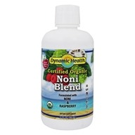 Dynamic Health - Organic Noni Juice from Tahiti Raspberry - 32 oz.