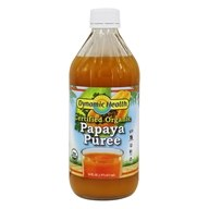 Dynamic Health - Papaya Puree Natural - 16 oz., from category: Health Foods