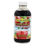 Dynamic Health - Juice Concentrate 100% Pure Pomegranate - 8 oz. by Dynamic Health