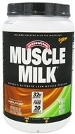 Cytosport - Muscle Milk Genuine Nature's Ultimate Lean Muscle Protein Chocolate Mint - 2.47 lbs. by Cytosport