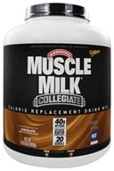 Cytosport - Muscle Milk Genuine Collegiate Calorie Replacement Drink Mix Chocolate - 5.29 lbs. by Cytosport