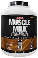 Cytosport - Muscle Milk Genuine Collegiate Calorie Replacement Drink Mix Chocolate - 5.29 lbs. - $38.99