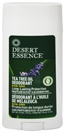 Desert Essence - Tea Tree Oil Deodorant With Lavender - 2.5 oz. (718334220673)