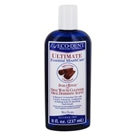 Image of Eco-Dent - Ultimate Daily Rinse and Oral Wound Cleanser/Oral Debriding Agent Alcohol Free Cool Cinnamon - 8 oz.