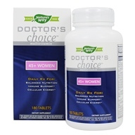 Image of Enzymatic Therapy - Doctor's Choice Multivitamins For 45-Plus Women - 180 Tablets