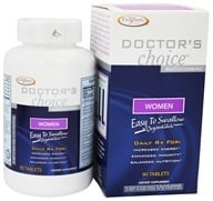 Enzymatic Therapy - Doctor's Choice Multivitamins For Women - 90 Tablets by Enzymatic Therapy