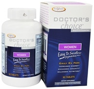 Enzymatic Therapy - Doctor's Choice Multivitamins For Women - 90 Tablets - $13.49