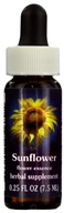 Flower Essence Services - Sunflower Flower Essence - 0.25 oz., from category: Flower Essences
